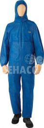 Fibre Guard disposable coverall category III type 5/6 blue size XXXL