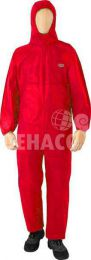 Fibre Guard disposable coverall category III type 5/6 red size XXXL