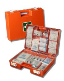 First Aid kit A including wall mount
