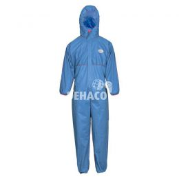 Flame retardant disposable coverall category III type 5/6