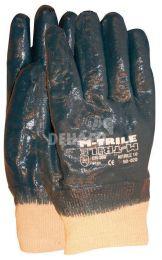 Gants NBR M-trile 50-020 tricot manchette à dos fermé catégorie II taille 10