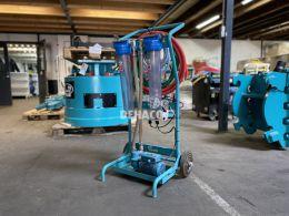 Gebrauchte Abfuhrpumpe für Materialschleuse