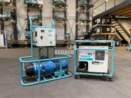 Gebrauchte compair Hydrovane HV02 zweiteiliger Kompressor mit Lufttrockner