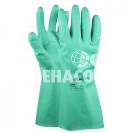 Handschoenen Nitrile-Chem M-safe 41-200 Groen maat 8 Cat.2