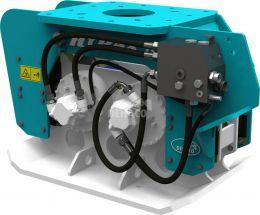 Hyrax 700 hydraulic compactor 13 - 25 ton