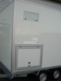 Install generator hatch in clean room for D320