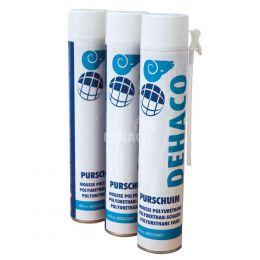 Mousse polyuréthane Dehaco, 750 ml