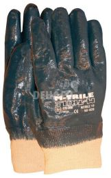 NBR M-Trile 50-020 closed back gloves with tricot cuff category II size 10 per pair