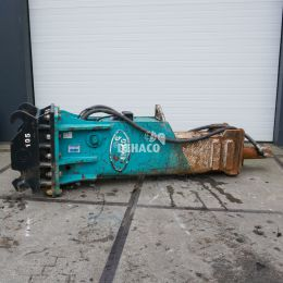 Occasion: IBEX 4000GS sloophamer 40 - 55 ton