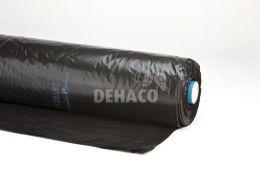 PE-folie op rol 4x50 meter 100 micron zwart