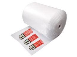 PE tube film 100cm x 100mtr with asbestos printing