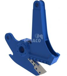 Plate shear jaws