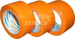 PVC bekistingstape 50 mm x 33 meter oranje