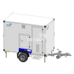 Ready Pack - Dehaco C3000E Connect met 3 compartimenten