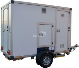 Rent a decontamination unit