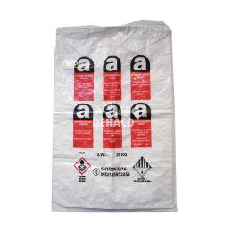 Reversed mini asbestbag 80x120cm met A-logo + 1x liner gestikt