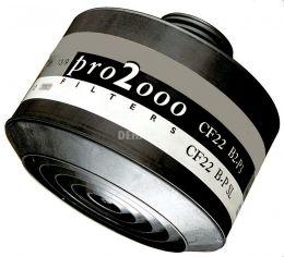 Scott PRO2000 CF22 B2/P3 filtre à vis combi