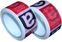 Tape with asbestos imprint 50 mm x 66 meter