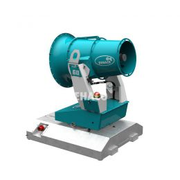Tera 60 dust control unit including Skid