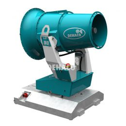 Tera 90 dust control unit including Skid