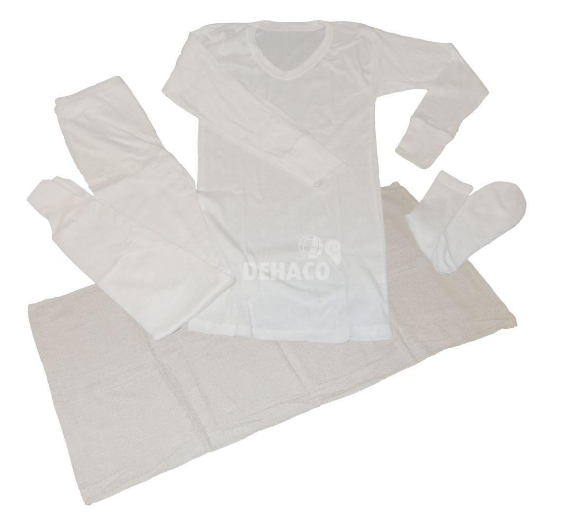 outlet store 8b38e cd4f4 Winter-Unterwäsche aus Baumwolle mit Handtuch pro Paket