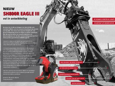 De nieuwe SH800R-Eagle II